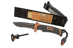 BG, Ultimate Fixed Blade Knife, DP, Serrated (Blister)
