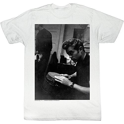 2Bhip James dean bongo bongo-T-shirt für Herren X-Groß Weiß