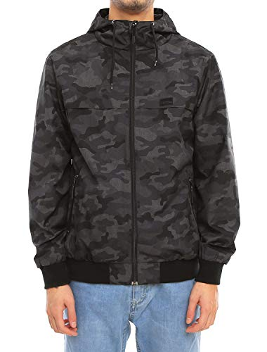 IRIEDAILY Gridstop Jacket [Camou Black]
