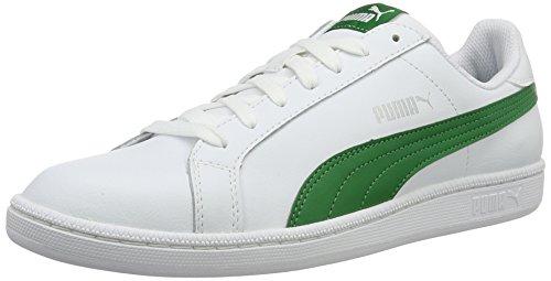 puma-smash-l-scarpe-da-ginnastica-basse-unisex-adulto-bianco-puma-white-amazon-green-22-44-eu