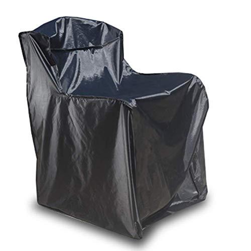 GRW-Plane Möbel Staubschutz Rechteck Im Freien Wasserdichte Tisch und Stuhl Balkon Terrasse Anti-UV Esstisch (Farbe: SCHWARZ, Größe: 106x106x50cm) Garten liefert ( Color : Black , Size : 75x75x100cm ) - Große Rechteckige Esstisch