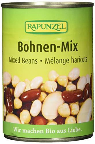 Rapunzel Bohnen-Mix in der Dose, 6er Pack (6 x 400 g) - Bio