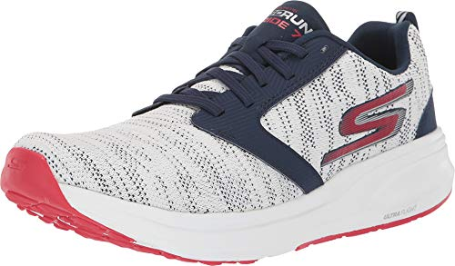 Skechers Performance Go Run Ride 7 - Boston Marathon 2019 White/Blue/Red 8