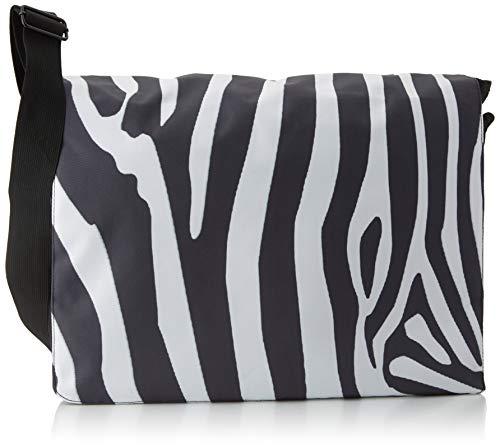 Luxburg® Design Umhängetasche, Umhängetasche, Umhängetasche, 17,3 Zoll, Motiv: Zebra