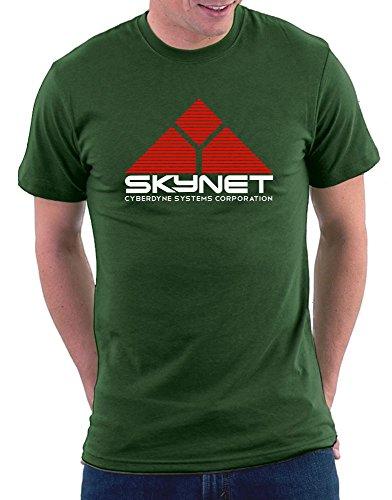 Terminator Skynet T-shirt Bottlegreen
