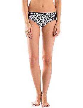 GlideSoul Signature Collection Mesh, Pezzo Inferiore di Bikini Donna, Leopard, XS