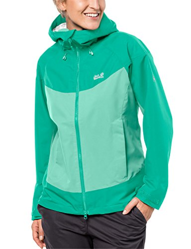 Jack Wolfskin Damen North Ridge Women Atmungsaktiv Wasserdicht Winddicht Outdoor Funktions