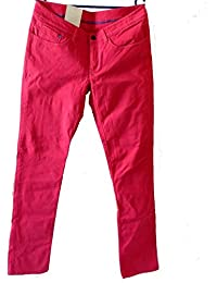 Adidas originals skin fit pant jean pour femme rose taille 42–neuf