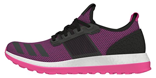 adidas Pureboost Zg W, Chaussures de Running Entrainement Femme Noir (Negbas / Negbas / Rosimp)