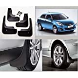 #5: Shoppersville Premium Quality Car O.E type Mud Flaps for Swift Dzire (set of 4 with screw)