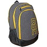 DSC Impulse School Backpack (Grey/Yellow)