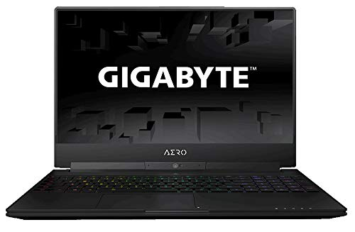 GIGABYTE Aero 15X Ordinateur Portable Ecran : 15.6 Pouces Intel Core i7 8750H 4.2 Ghz 16 Go Ram 512 Go SSD NVIDIA GeForce GTX 1070 8Go GDDR5 Windows 10 Pro Anthracite