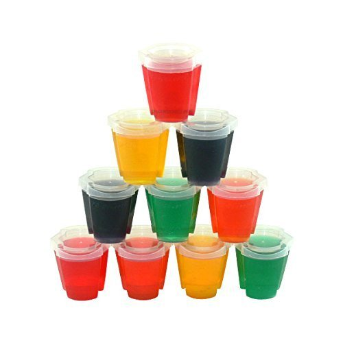Shot Cups with Lids - 2 oz. Max Capacity by