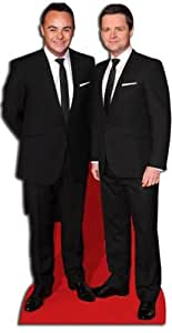 Star Cutouts Cut Out of Ant and Dec