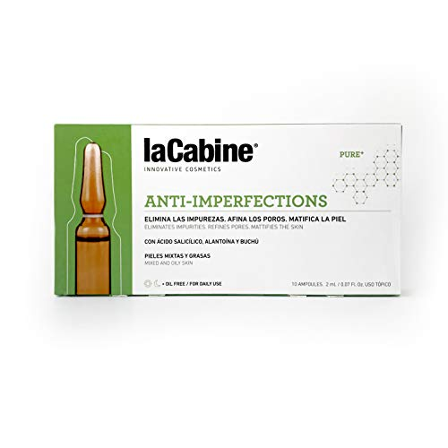 La Cabine Ampollas Anti-Imperfecciones - Tratamiento Antiacné con Ác