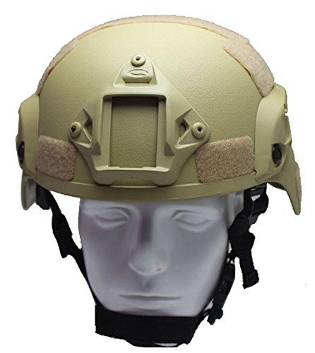 SaySure - Mich 2000 Tactical Airsoft Helmet NVG Shroud RAC Rail
