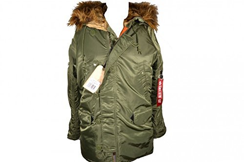 Alpha Industries N3B VF 59 Winterjacke Sage Green,