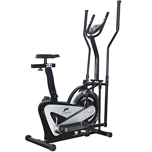Fitnessform� ZGT� Z10 Cross Trainer 2-in-1 Fitness Elliptical Exercise Bike (New Model)