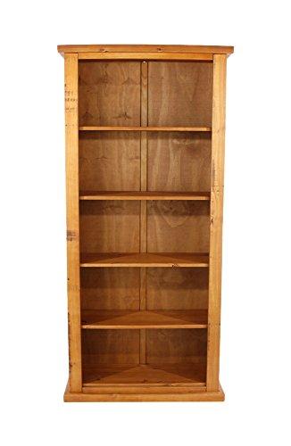 CORE Products hoch Bücherregal, rustikale Honig Effekt (Bücherregal Honig)
