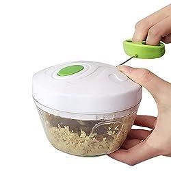 Pinkdose Kitchen Pulling Food Chopper Household Hand Chopper Manual Rope Food Processor Slicer Shredder Salad Maker Vegetable Tools