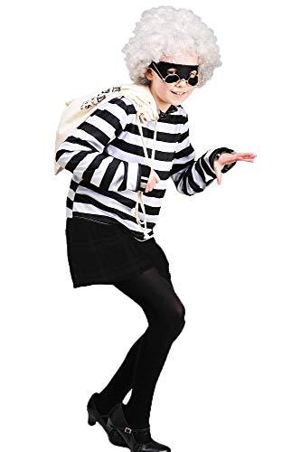 8in1 Mädchen Gangsta Granny Style Robber Buch Kostüm Large (10-12 Years)
