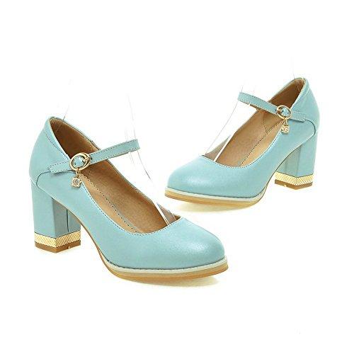 Adee Mesdames Princesse polyuréthane pumps-shoes Bleu