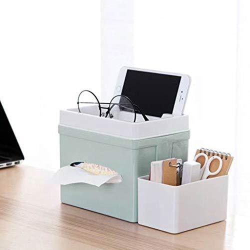 Specifiche: Materiali di alta qualità, indossabili e resistenti. Caratteristiche: una grande e una piccola due scatole portaoggetti. Molteplici modi di utilizzo, uso multiscenario. Adatto per scrivania, tavolo da toeletta, bagno. Ottima fattura. Dime...