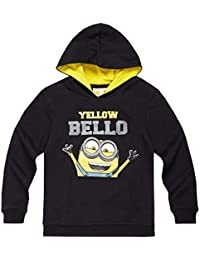 Minions Despicable Me Chicos Sudadera con capucha 2016 Collection - Negro