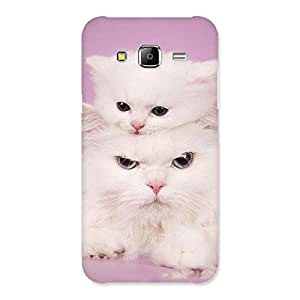 Impressive Kitty Family Back Case Cover for Samsung Galaxy J5