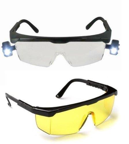 Doppelpack! Desert Storm Schutzbrillen Gelb + Clear