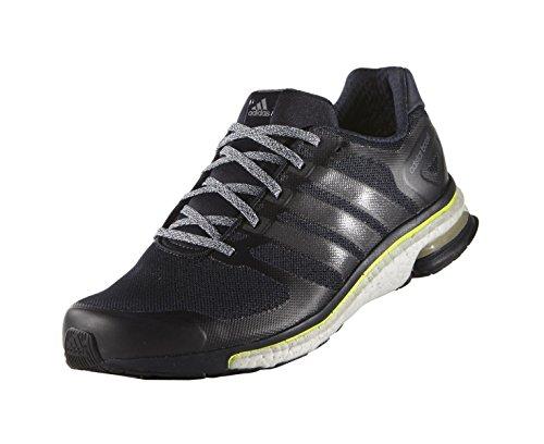 Adidas Adistar Boost Glow Chaussure De Course à Pied - AW15 night navy-night navy-solar yellow