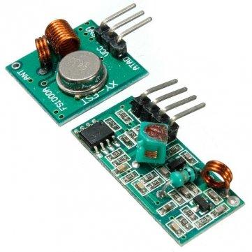 433MHz HF-Sender mit Empfänger Set für Arduino ARM MCU Wireless- Garage Door Opener Remote Fall