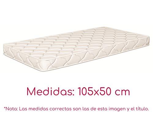 NATURALIA - Colchon cuna thermofress, talla 105x50cm, color blanco