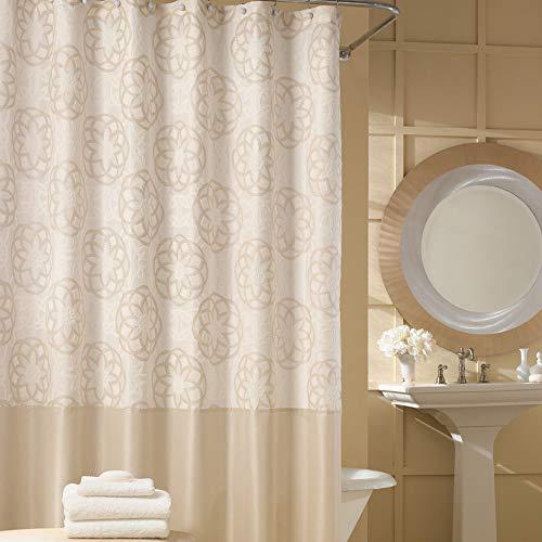 Beige Tan Khaki (DS Bad odisha Wasserdicht Stoff Vorhang für die Dusche, Beige,Tan,Cream,Khaki, Shower Curtain:62