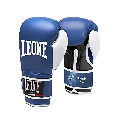 Leone 1947 guanti unisex leone1947flash boxe attrezzature, blu, 340,2gram