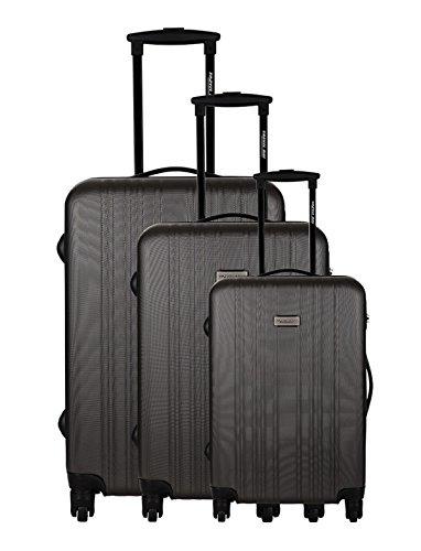 Travelone Set de 3 trolleys rígidos Gris