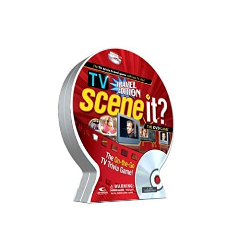 Scene It? TV Trivia DVD Game, Travel Edition by