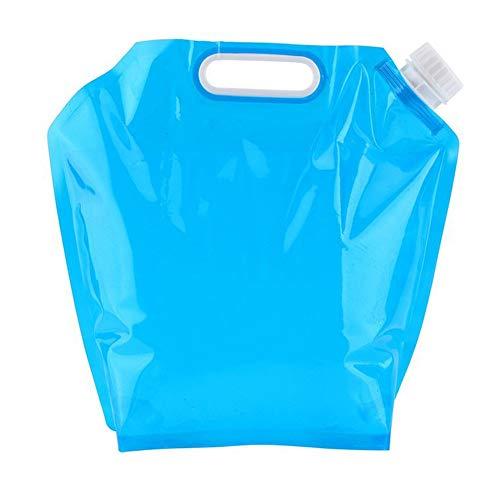 YAYAKI Faltbare Wasser-Aufbewahrungstasche, 5 l/10 l, faltbar, für Camping, Wandern, Wasser, a, 32.5cm x 30cm -