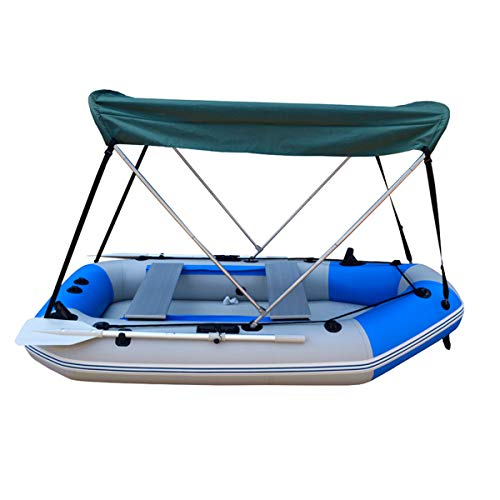 JCHUNL Outdoor Anti UV Top Boot Regenschutz Zelt Sonnenschutz Für 2,3-3,3 Mt Gummi Aufblasbare Fischerboot New Hot (Gummi-fischerboote)