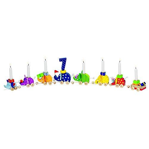 Goki 60922 - Dekoration - Geburtstagselefantenparade