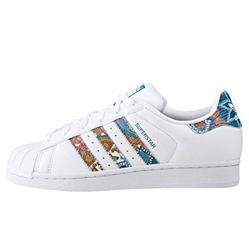 Adidas Sneaker Damen SUPERSTAR BY9177 Weiß Weiß