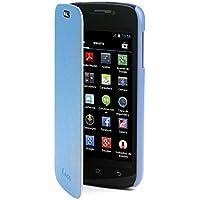 NGS Shadow - Funda tipo libro para smartphone NGS Odysea 4, color azul