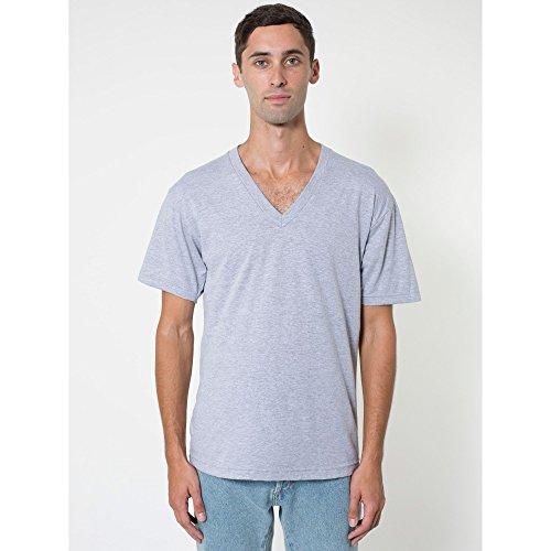 american-apparel-unisex-t-shirt-mit-v-ausschnitt-kurzarm-2xl-grau-meliert