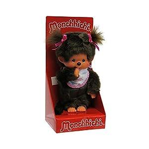 Sekiguchi- Monchhichi Juguete, Peluche, Color Rosa (255550)
