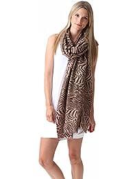 Pashmina Couture Print Zebra 70% Kaschmir 30% Seide – 70 x 200cm – 12 Farben