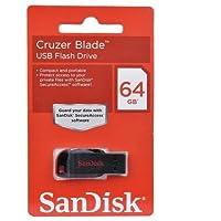 فلاش سان ديسك حجم 64 جيجا  Sandisk Cruzer Blade 64GB Pendrive Pen Drive