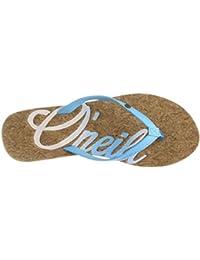 O'Neill Fw Logo Cork Flip Flops, Chanclas para Mujer