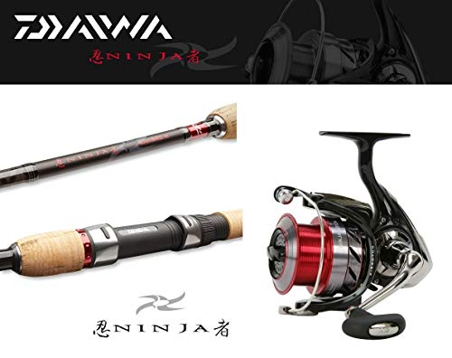 Daiwa Ninja Jiggercombo 2,70m / 8-35g + Ninja 3000A Spinncombo