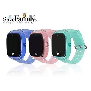 Reloj con GPS para niños Save Family Modelo Superior Acuático con Cámara. Smartwatch con botón SOS, Permite Llamadas y… 1