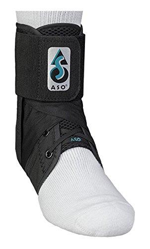 MedSpec ASO Knöchel Stabilisator, unisex - erwachsene, schwarz, Small (Bilaterale Knöchelbandage)